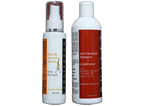Hair Re-Growth Serum + Bullet Anti Dandruff Shampoo Conditioner
